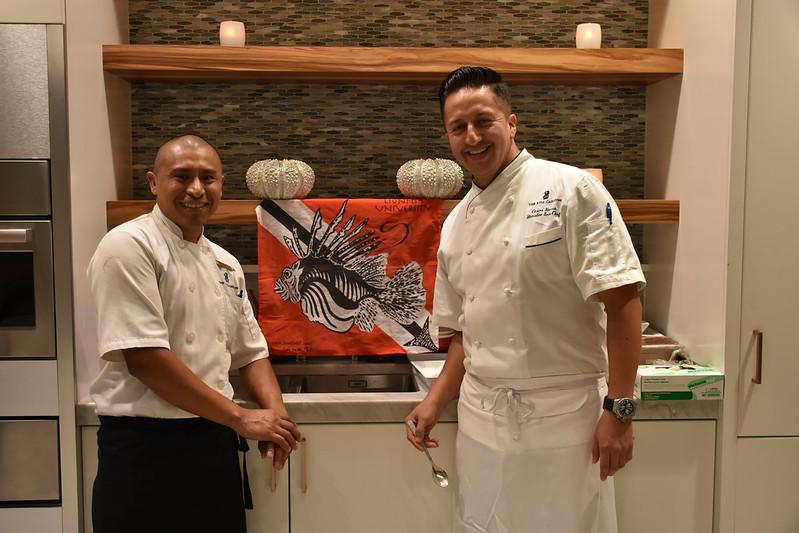 03-27-18  Photos Ritz Cooking Studio Lionfish  52