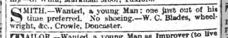 Stamford Mercury - Friday 10 January 1890
