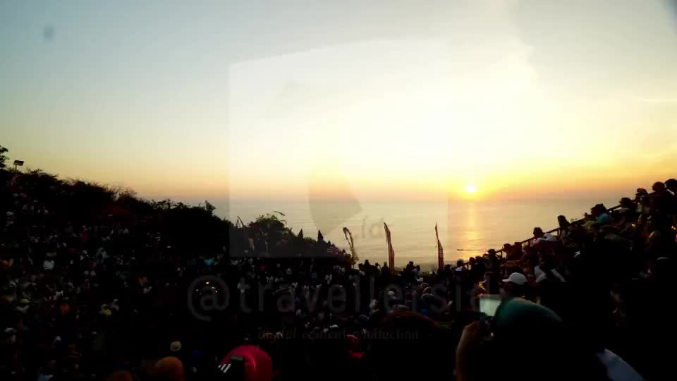 Sunset at Kecak Uluwatu, Bali