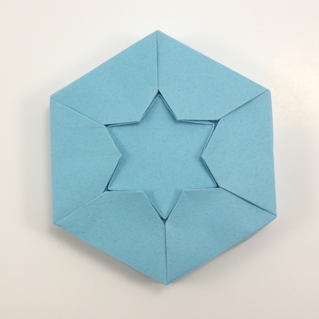 How to Fold an origami Star of David or six pointed star | Sterne ... | 1024x1024