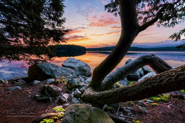 Kawartha sunset