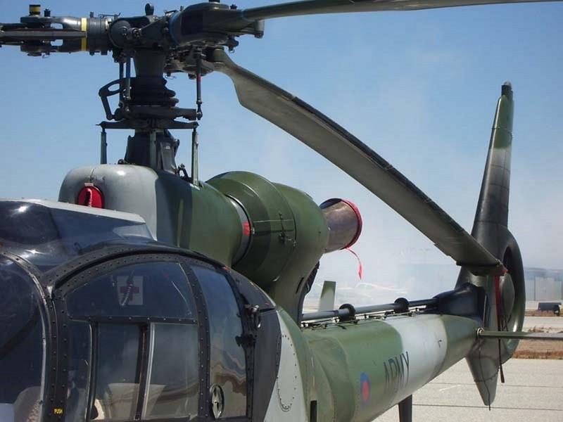 Aerospatiale Gazelle HT.3 6