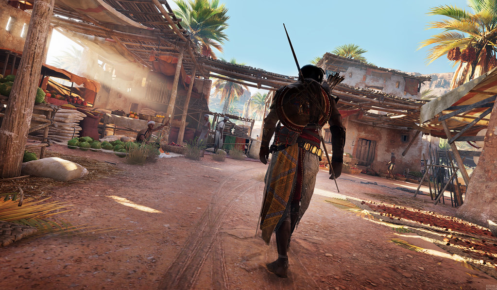 Assassin S Creed Origins Bayek At Siwa You Can Find And S Flickr