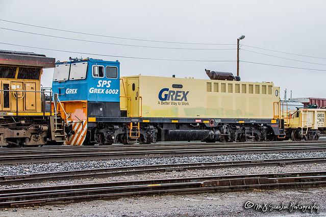 GREX 6002   EMD DE10   UP Sparks Yard