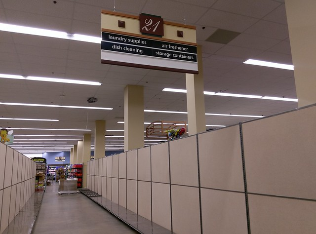 Aisle 21 - in transition