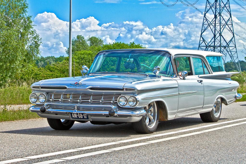 Chevrolet Brookwood 2 Door Station Wagon 1959 2332 Flickr