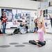 Jazzijooga koos MyFitnessiga Tallinna Lennujaamas 19.04.2018/Linnaruumiprojekt