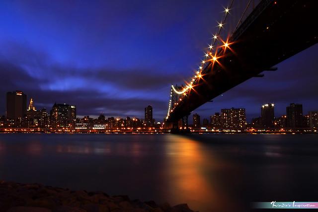 The Manhattan Bridge, NYC *A Popular Landmark*