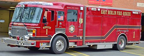 ct berlin firetruck alf american lafrance rescue