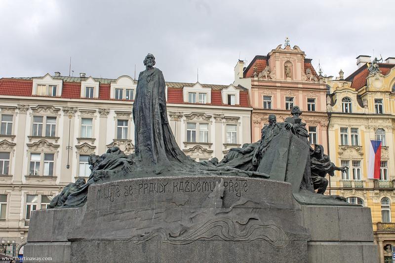 Monumento a Jun Hus
