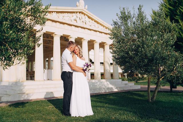 Parthenon wedding in Halkidiki