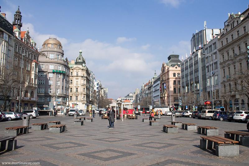 Piazza San Venceslao, Nove Město