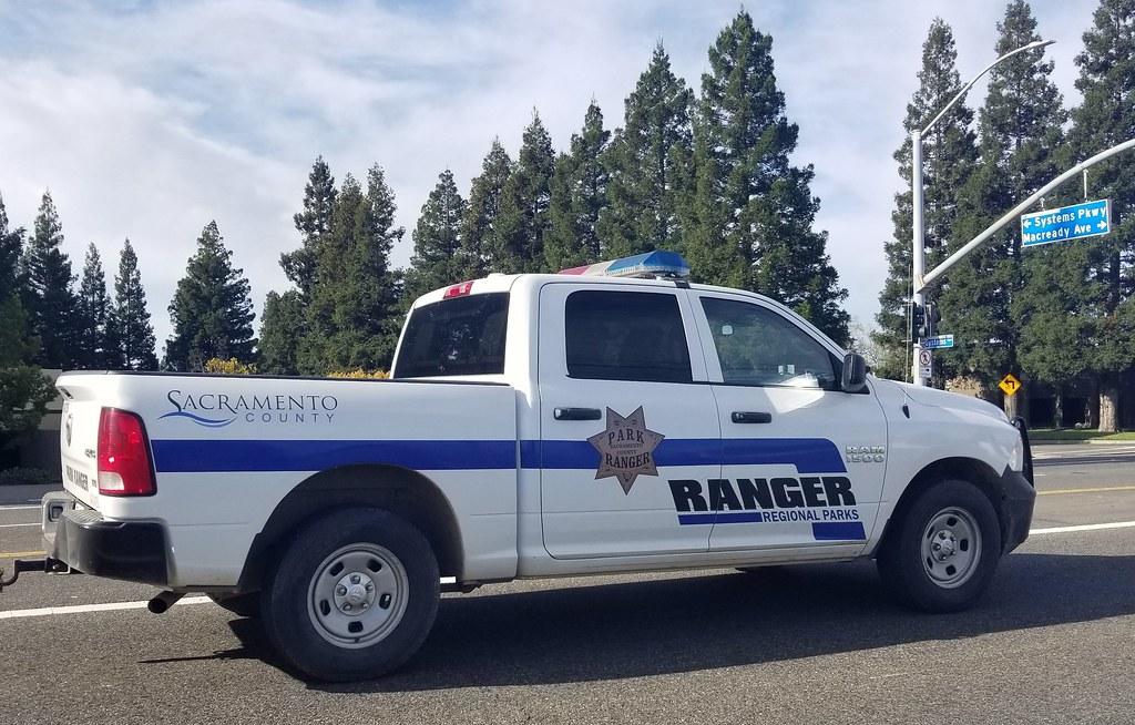 Sacramento County Park Ranger Dodge Ram (2) | Caleb O | Flickr