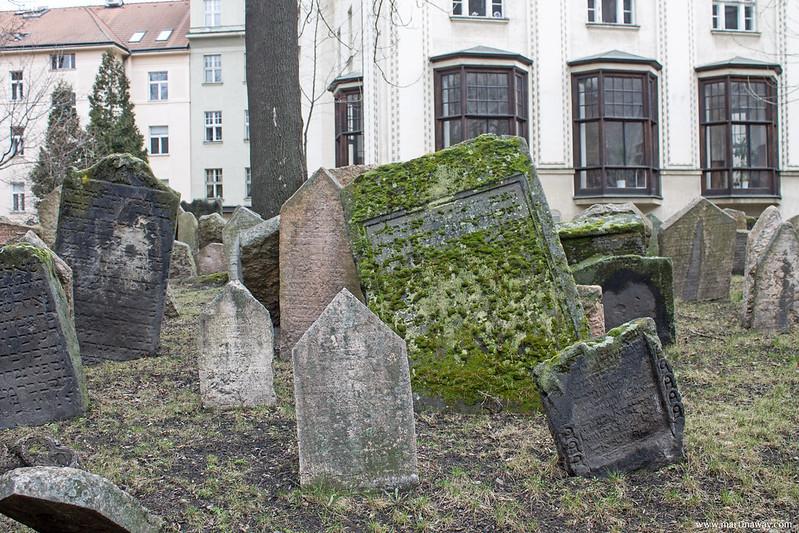 Old Jewish Cemetery, quartiere ebraico di Praga
