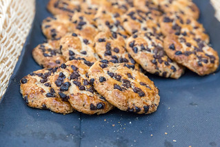Chocolate chip cookies for dessert   by marcoverch
