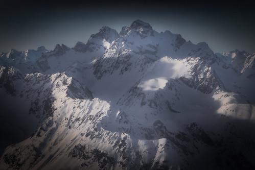 mountains mountain snow dreamy austria tyrol landscape snowy snowcapped peak white blue black