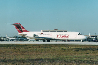 YV-459C DC-9 @ Miami 13-03-1996
