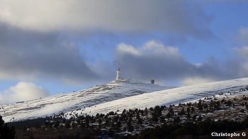 Le mont Ventoux (Vaucluse - 12 février 2018) (1)