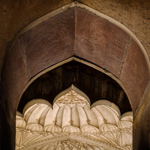 Shapes in Layers | Safdarjung's Tomb, Delhi, India | by t linn