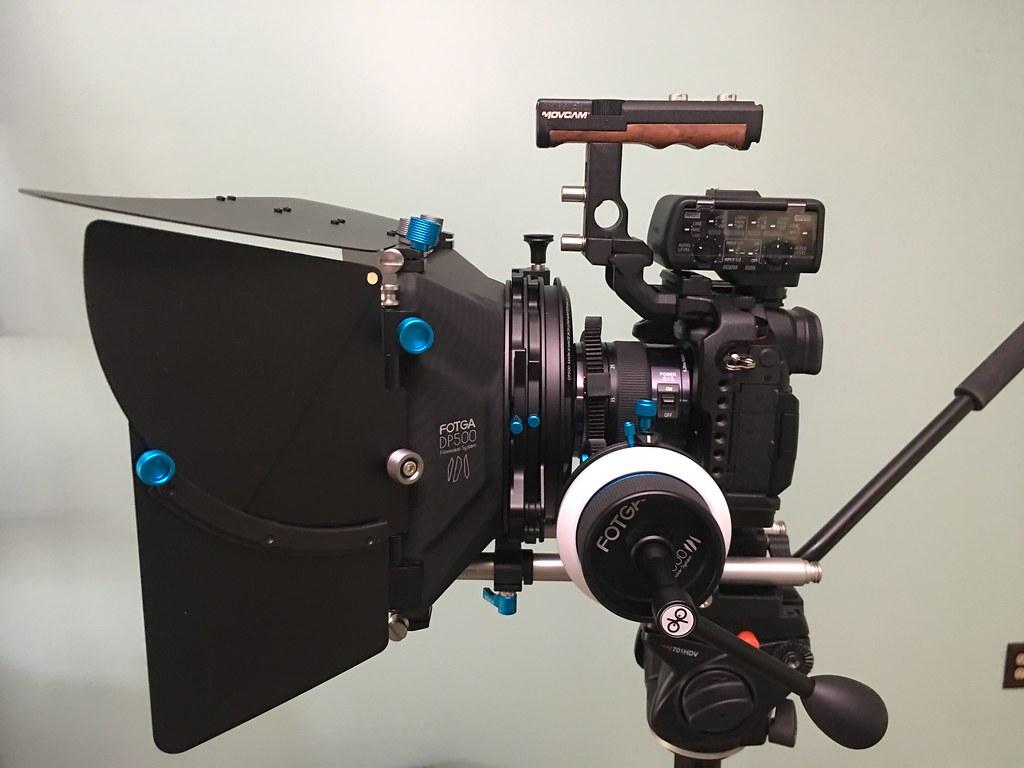 Panasonic GH5s camera rig setup    Panasonic GH5s ~ $2500