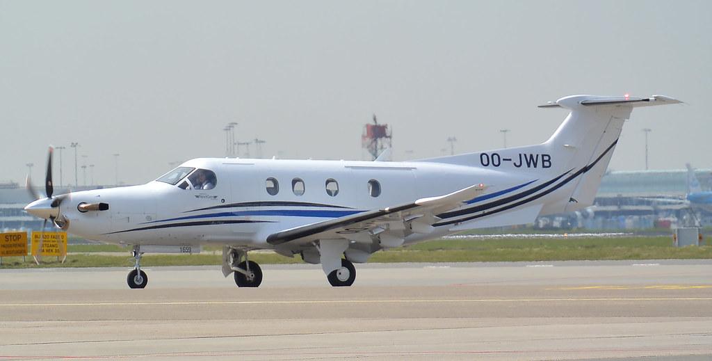 PC-12 | OO-JWB | AMS | 20180408 | Pilatus PC-12 OO-JWB NextG