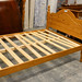 4ft solid wood bed E115