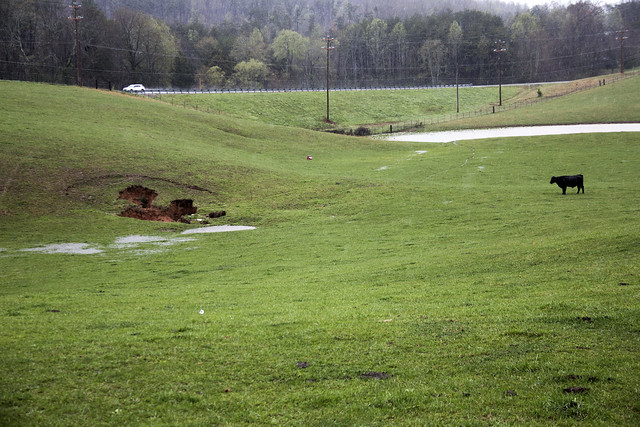 Sinkhole, Overton County, Tennessee 2