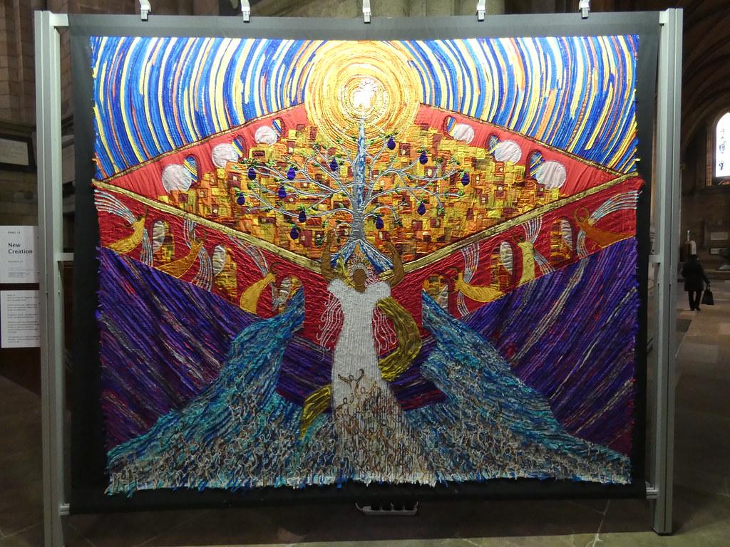 Panel 14 - Revelation 22 | New Creation John's story ends wi… | Flickr