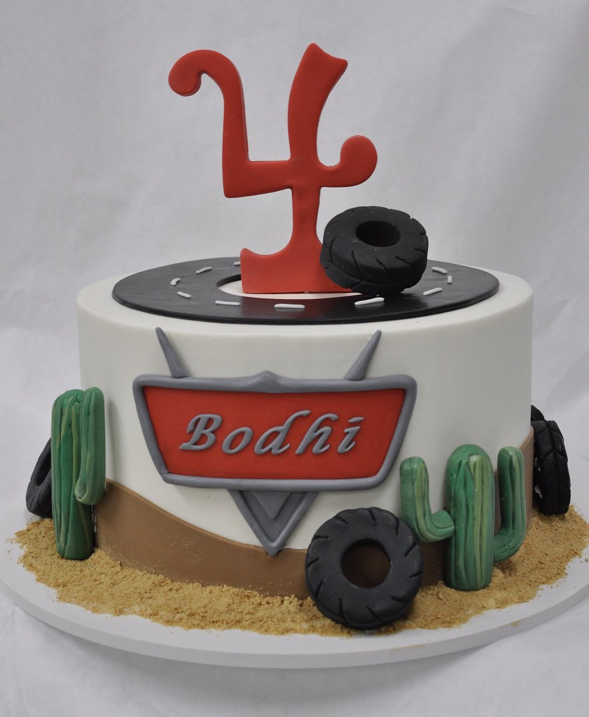 Fantastic Cars Themed Birthday Cake Jenny Wenny Flickr Personalised Birthday Cards Xaembasilily Jamesorg