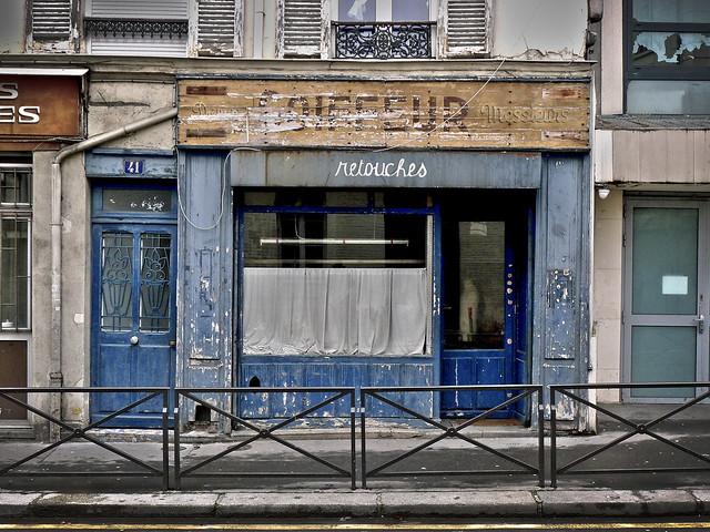 Coiffeur ou retouches ? Rue Pelleport Paris XXème