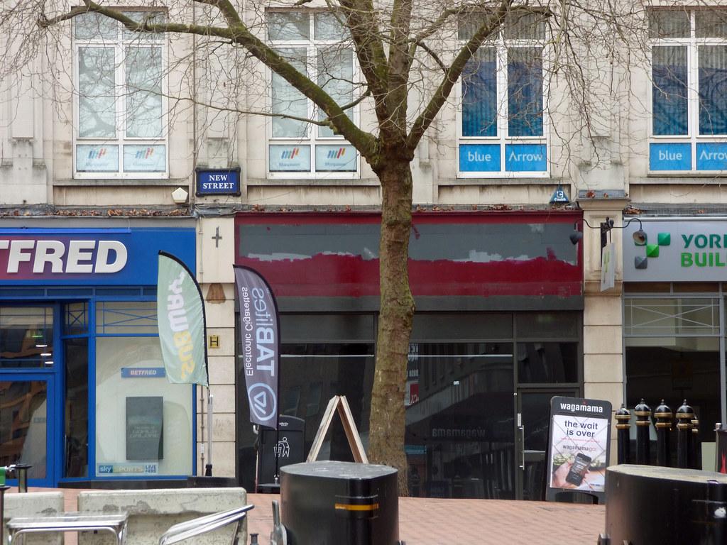 Closed Down Costa Coffee 62 New Street Birmingham Flickr