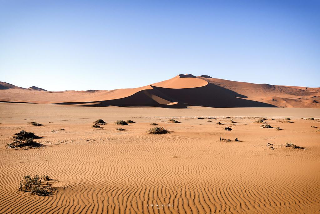 Namibia Big Daddy Dune In Sossusvlei Sossusvlei Is Surely