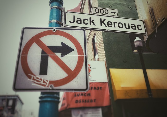 Jack Kerouac Alley - Chinatown - San Francisco, CA