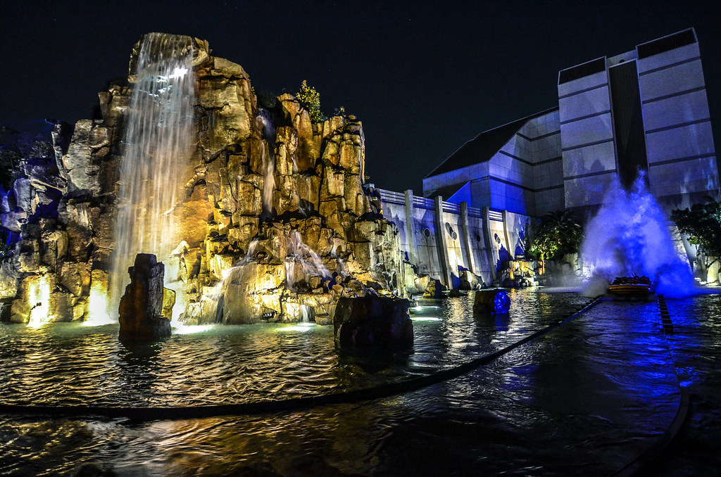 RIver Adventure night USJ