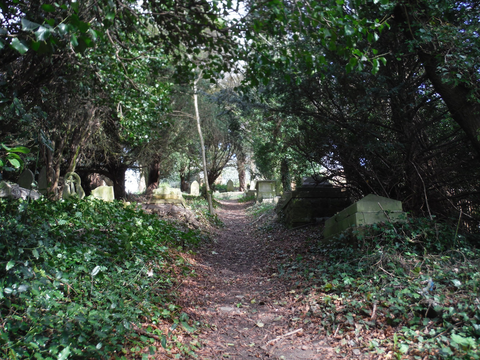 Path through the Hanging Cemetery SWC Short Walk 40 - Harrow-on-the-Hill (South Kenton or Northwick Park to Harrow-on-the-Hill)