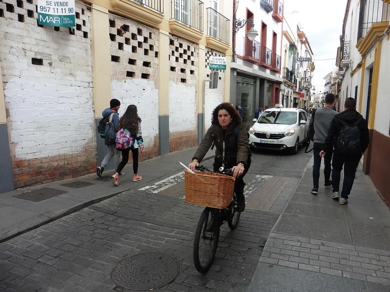 Bicicleta Casco Histórico