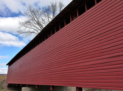 thurmont maryland frederickco bridges uticamillscoveredbridge historicbridge nrhp restored iphone cmwd