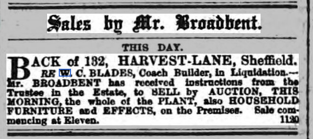 Sheffield Daily Telegraph - Thursday 22 March 1877