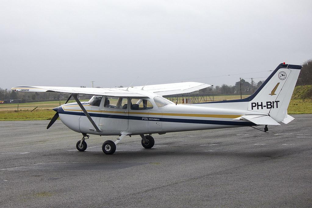 ph-bit | osair bv | reims f172n | cn 1863 | built 1979 | e… | flickr