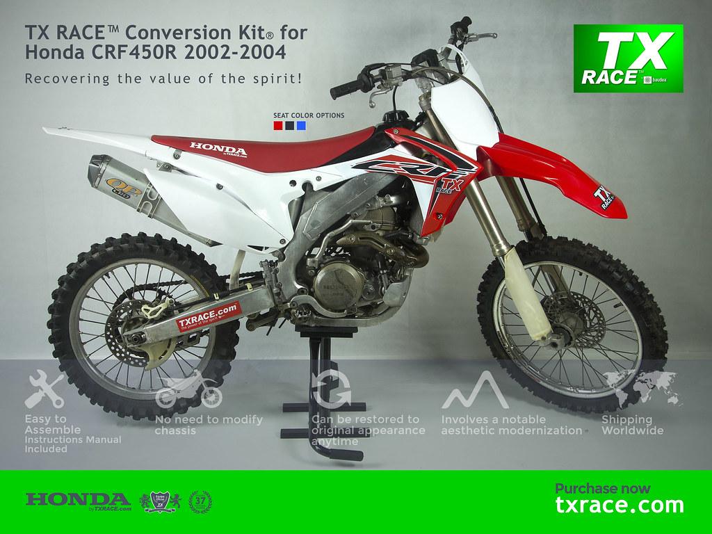 TX RACE™ Conversion Kit® for Honda CRF450R 2002 2003 2004 | Flickr
