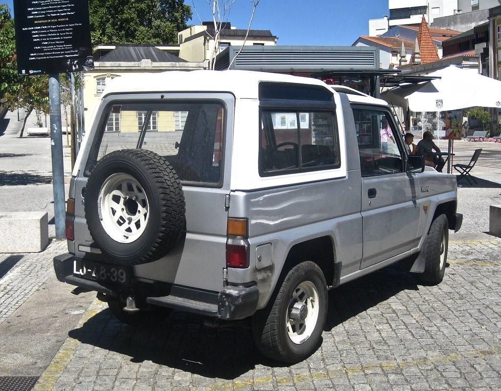 1985 Daihatsu Rocky 4x4 Diesel | In some export markets this… | Flickr