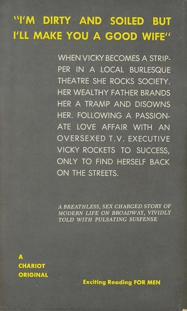 Chariot Books 189 - Mel Dumont - Vicky (back)