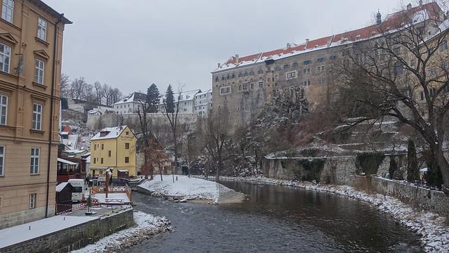 Český Krumlov Castle and Chateau, South Bohemia, Czech Republic