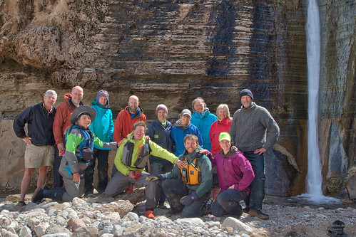 Group at Columbine Falls   by pmbrmtrr