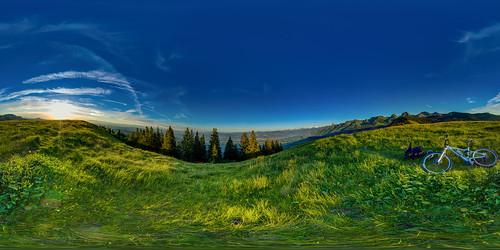 gurnigel 815f4l sunset fisheye hdrdri sky 360gradpano canon 5dmkiii wolken landschaft bern schweiz