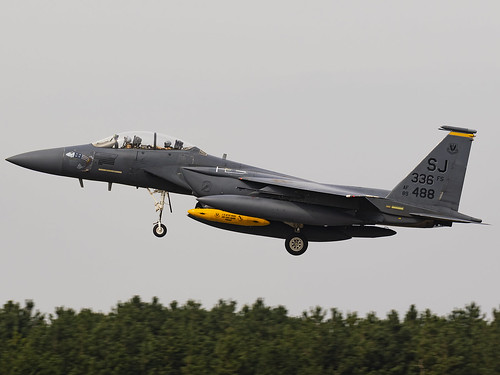 United States Air Force | McDonnell Douglas F-15E Strike Eagle | 89-0488 | by MTV Aviation Photography