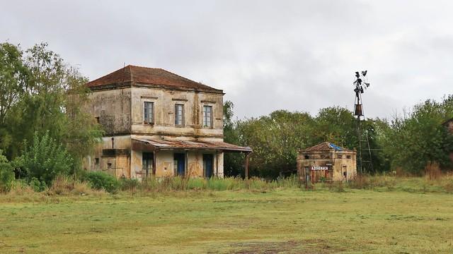 Estación de Azcuénaga - Azcuenaga's old train satation