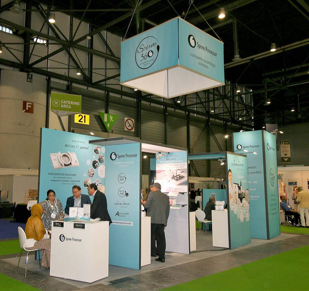 Expo Exhibition Stands Jobs : Sperm processor eshre 2017 geneva switzerland expo exhibition