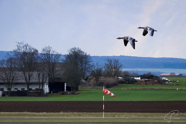 Approaching Staden Airport