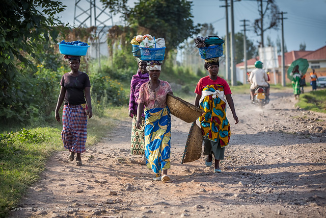 On the way to Lake Burera, Ruhengeri, Rwanda, June 2017